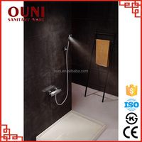 ON-03 Commercial design rectangle high pressure shower big head waterfall