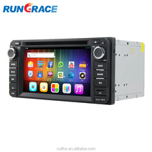 Android 6.2 inch car gps navigation system radio cassette player for toyota