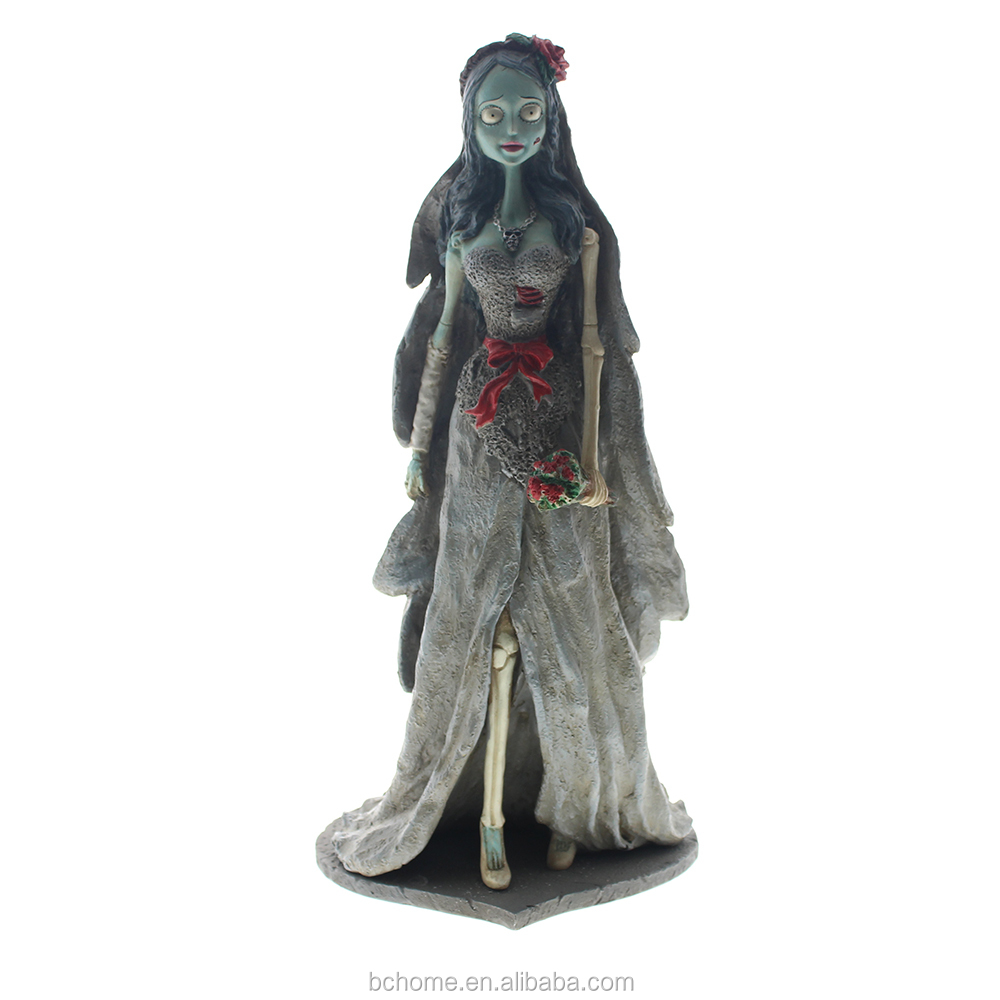 "Resin ""Tim Burton's Corpse Bride"" Home Decoration"