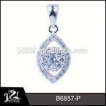 White gold fahion fashion jewelry hammered sterling silver pendants best selling products in dubai