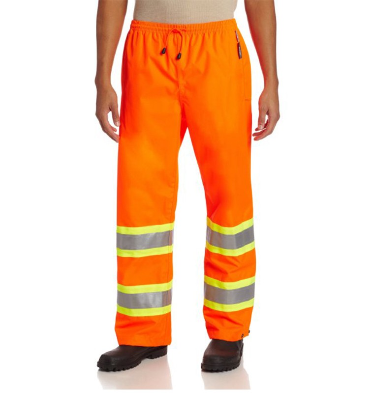 wholesale custom reflective stripe men's work uniforms pants/trousers