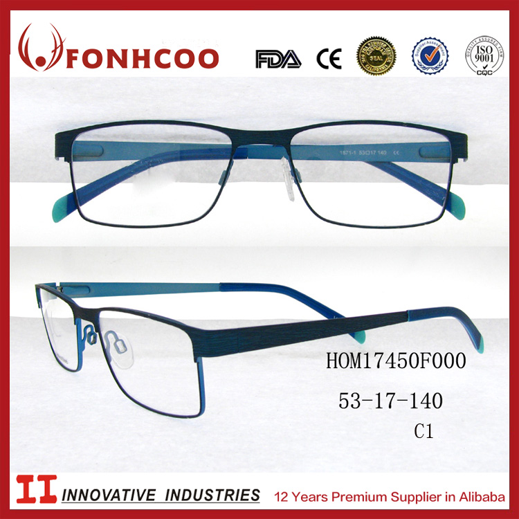 FONHCOO New Arrival Gradient Colors Pictures Of Spectacle Optical Frames For Men