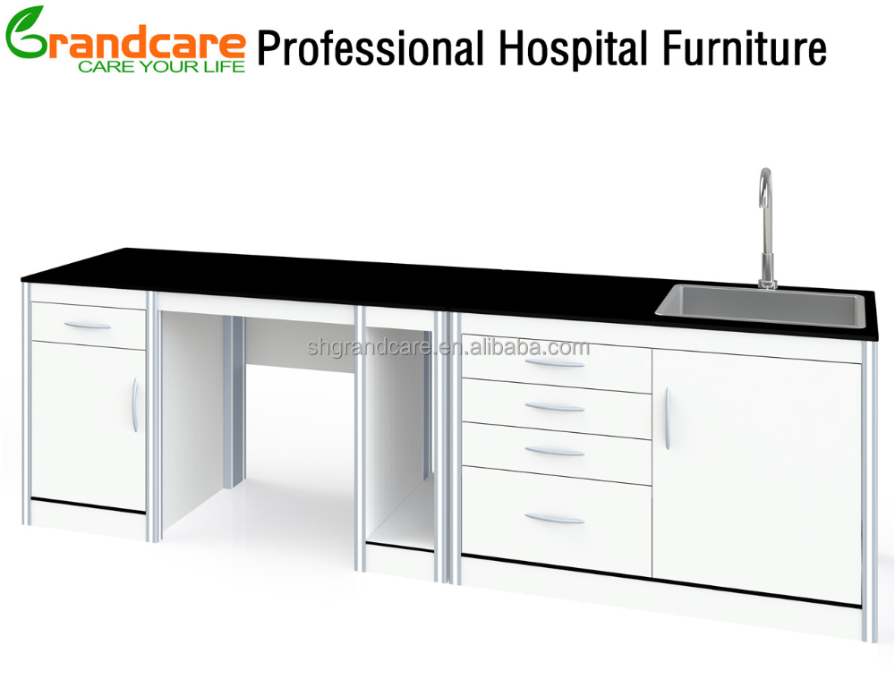 Easy Sterilized Resin Laminate Customized Dental Furniture Wall Units Classical Model3 By Module Design