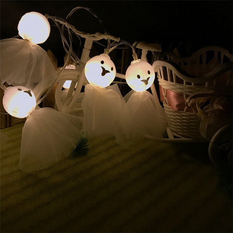 Hot Selling Halloween Led Light Bulb String Outdoor Decoration