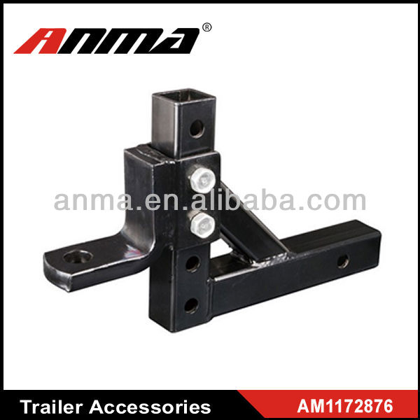 Fits 2 inch square receivers high quality steel 3 ball mount hitch