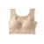 Japanese underwear women's suit without steel bra to gather shockproof bra one piece seamless vest sports underwear summer