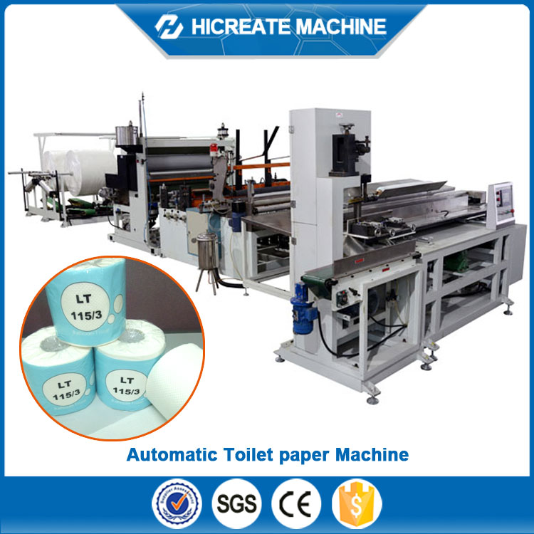 automatic toilet tissue paper and maxi rolls cutting machine price
