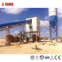 Concrete mixing unit HZS60 Conveying Belt 60m3/h CE certificate 60m3 concrete batching plant(HLS60)