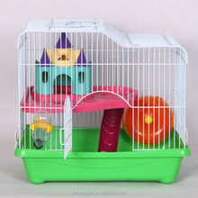 Small Size Wire Pet Cage For Hamster Wholesale Metal Cage Hamster Accessories