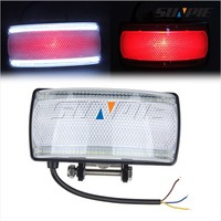 12V 24V High Mount Rear Brake Stop Lamp Assembly Light Clear Lens for Jeep Grand Cherokee