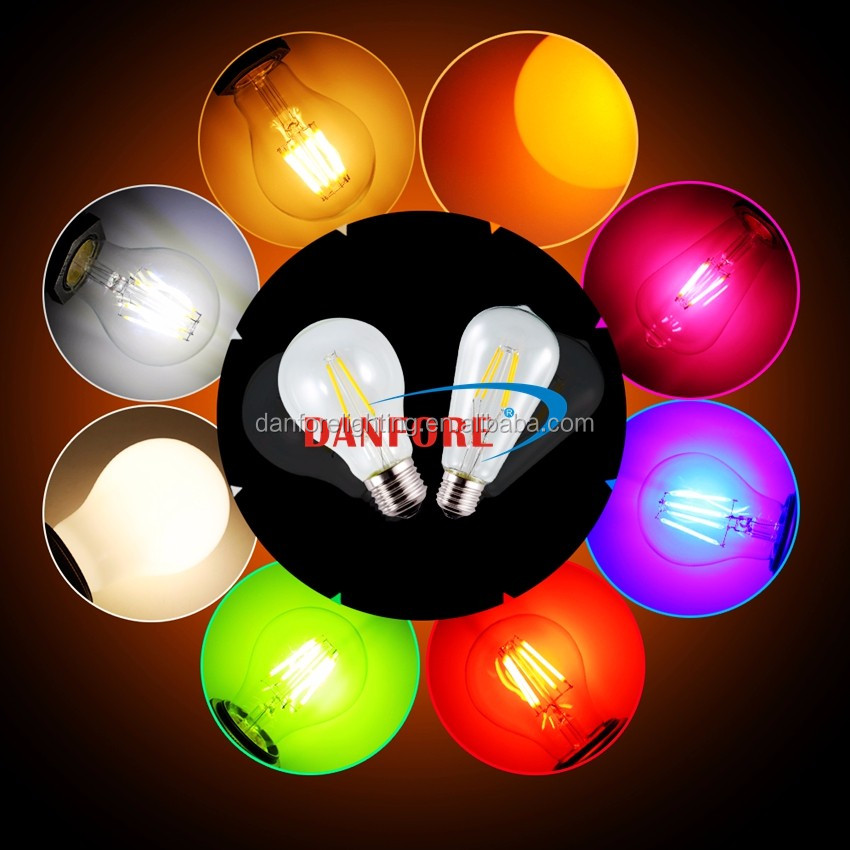Danfore Colorful RGB Filament E27 LED Bulb