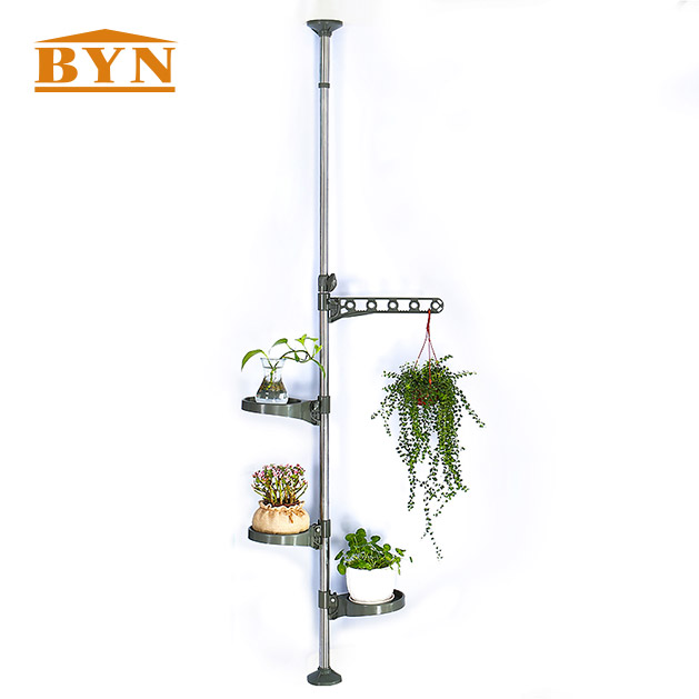 High quality Indoor mental wire flower stand flower shelf flower hanger