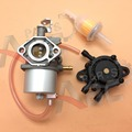 Carburetor 037 17561 W/ Fuel Pump Oil Filter For Club Car DS Gas Golf Cart