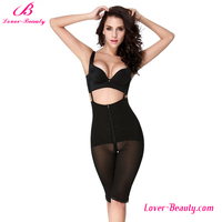 Tummy control black zipper slimming hot shapers as seen on tv