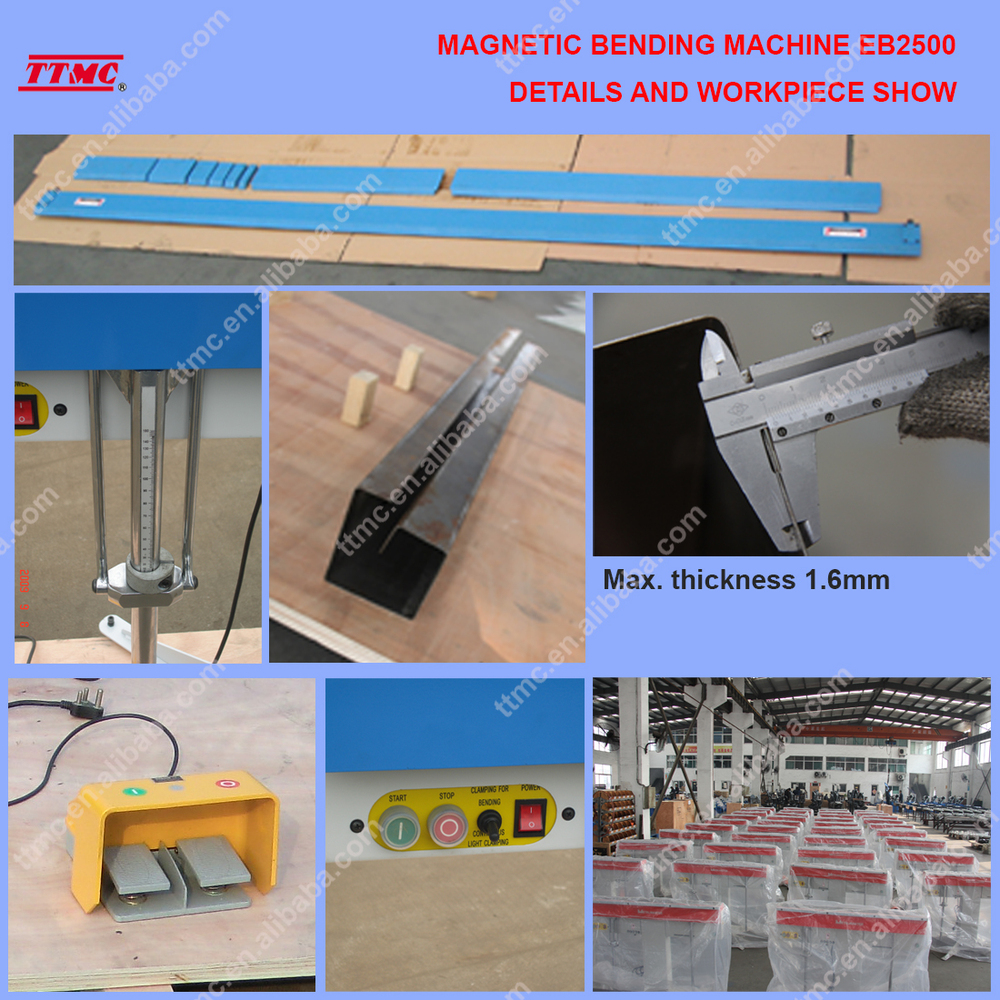 (EB1000) Magnetic Bending Machine, Electro Magnetic Bending Machine