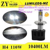 Philip luxeon mz led Speed Light new products high power LED headlight bulb H7 H8 H4 H11 9005 9006 9012 D1/D2/D3/D4 S/R