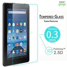 "2PCS 9H Explosion Proof Tempered Glass for Amazon Kindle New Fire HD 8 8"" 8 inch Screen Protector Anti Shatter slim Film Cover"