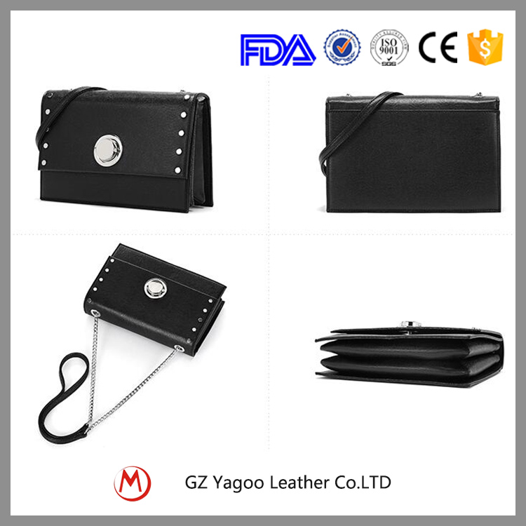 Hot selling ladies pu leather lock bags excess paris handbag manufacturer in china