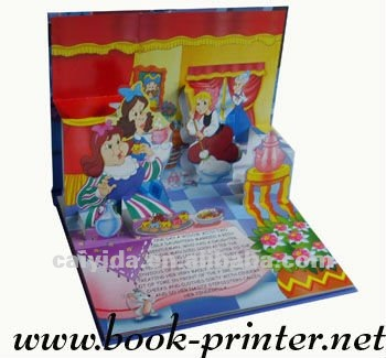 child/kid easy story picture book printing