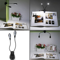 8 LED Rechargeable Reading Light Book Light for Wholesale on Amazon