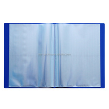 Plastic filing case A4 size PP Elastic Band Filing Document Box file folder for office stationery