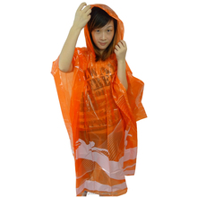 Biodegradable Rain Poncho with Logo