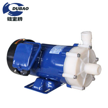 Smooth appearance PP/PVDF magnetic pump MD-15R used in chemical liquid