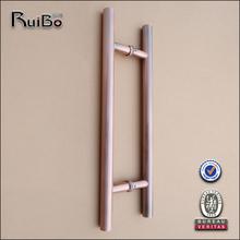 stainless steel back to back door handle