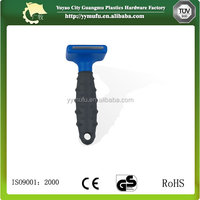 Poodle comb Pet product Pet supply stainless steel plastic handle