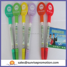 Smile face promotion banner pen