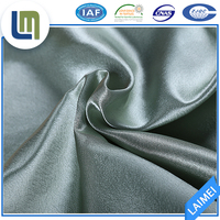satin Supple bright beautiful Fine grain fabric for bedding set