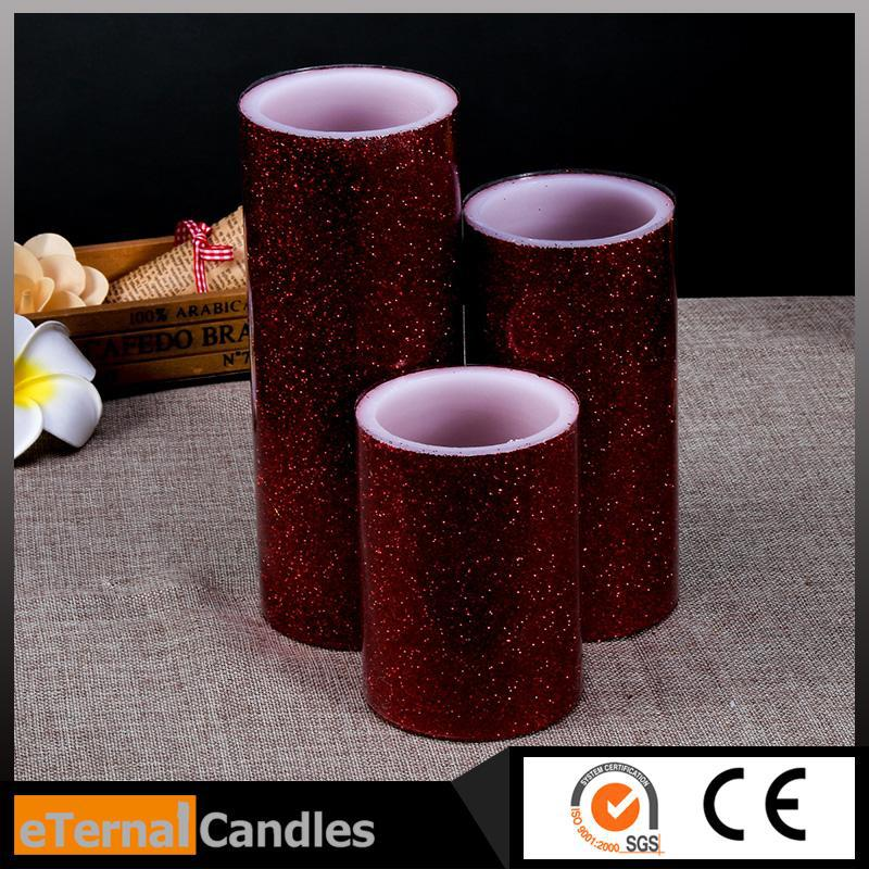customized handmade decorative candles twelve rechargeable warm white tealights with remote control