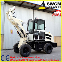 SWGM HR800 mini new condition hydrostatic transmission wheel tractor with price fiat tractor