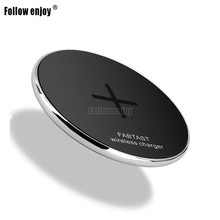 QI standard warranty12 Months input DC9V 10W fast wireless cell phone charger for Samsung