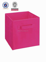 cheap printed non woven useful storage foldable case box