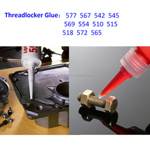 Fine Quality Super Glue Instant Glue Thread Locking Metal Bonding Adhesive 510 518 515 577 567 542 545 569 572 565 50ml/bottle