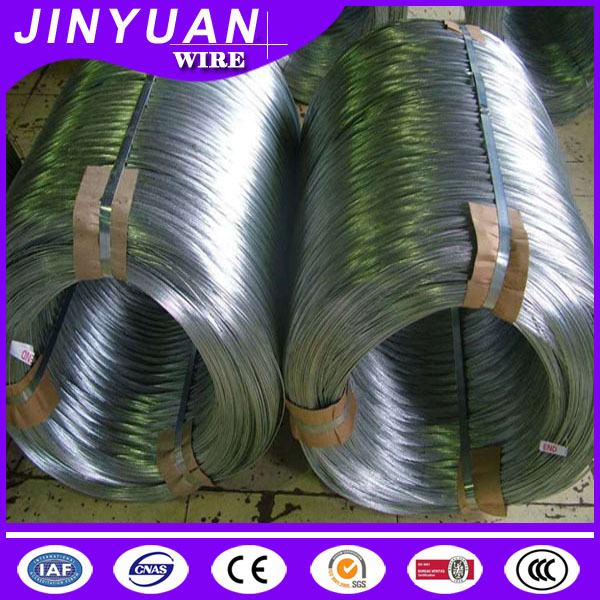 2016 hot sale low carbon iron Q195 zinc steel wire 3mm soft annealed galvnaized iron wire with low price and good quality