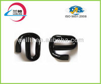 Elastic clip spring tension for railway