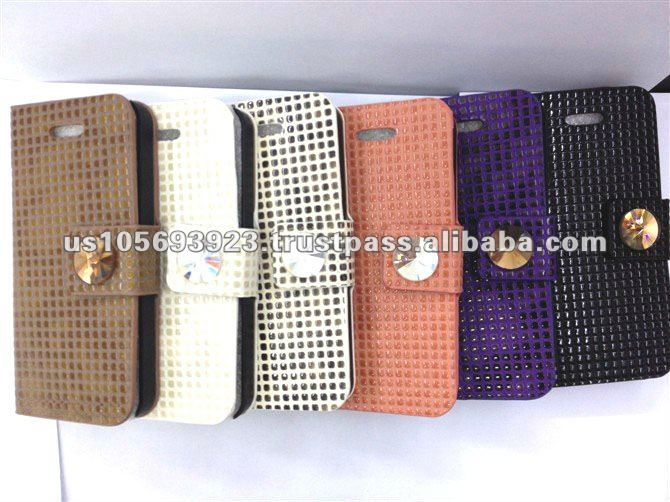 Credit Card Holder Leather Mobile Phone Case For Iphone5 IMPRUE