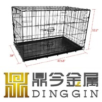 Tervueren Dog Kennel With ABS Tray