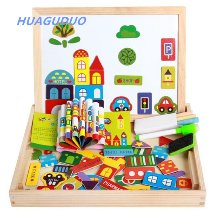Australia wholesale educational toy magnetic 3d wooden puzzle animals baby wood toys for <strong>kids</strong>