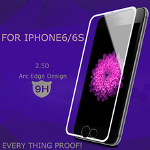 Transparent Nano coating Explosion proof Screen Protector for iphone 6s plus tempered glass