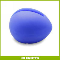 2014 newest design ,Egg shape silicone loudspeaker / silicone holder for iPhone
