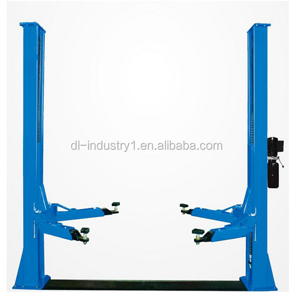 Perfect after-sales service Manual release lock DL factory price car lift,Hot sale two post car lift