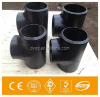 Tee Type and round Head Code butt welded Seamless pipe fitting seamless carbon steel