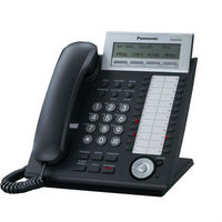 Digital System Telephone with Ethernet port and 24 flexible buttons Panasonic KX-DT333