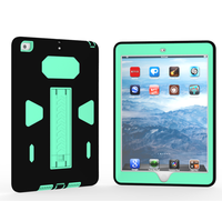 New Hybrid Shockproof Rugged Protective Case Cover With Kickstand For 2017 ipad 9.7