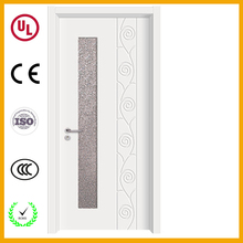 Wholesale interior office door with tempered glass window entry door glass inserts