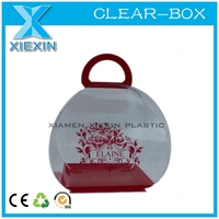 clear box oem acetate plastic handles for boxes