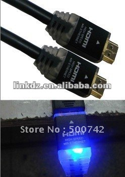 3D Cheap LED HDMI Cable High Speed for 3D 1080P HD TV